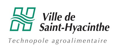 Logo : Ville de Saint-Hyacinthe (CNW Group/Énergir)