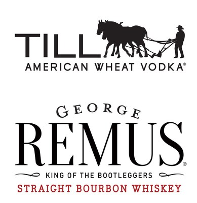 TILL American Wheat Vodka | George Remus Bourbon Logo (PRNewsfoto/MGP Ingredients)