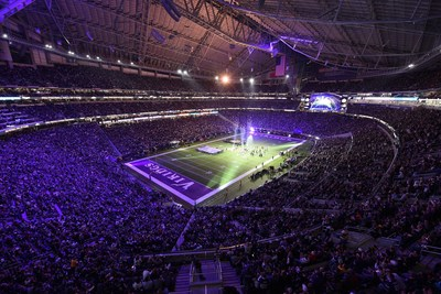 The Vikings recently introduced enhanced game-day connectivity via CenturyLink's Wi-Fi networking infrastructure. This includes an integrated IP network that enables 1,400 Wi-Fi access points, which provide connectivity for more than 70,000 mobile devices - at once.