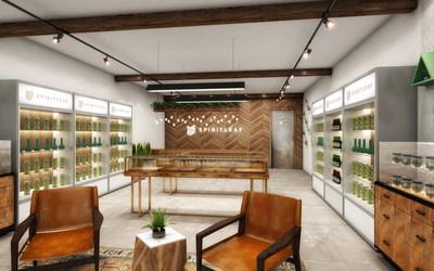 Spirit Leaf Inc. Unveils Concept Design for Recreational Cannabis Retail Locations (CNW Group/Spirit Leaf Inc.)