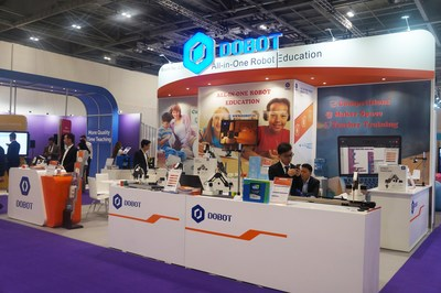 DOBOT Educational Robotic Show at BETT 2018