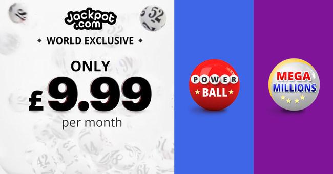 JACKPOT.COM LAUNCHES EXCLUSIVE MONTHLY LOTTERY SUBSCRIPTION PROGRAM (PRNewsfoto/Jackpot.com)