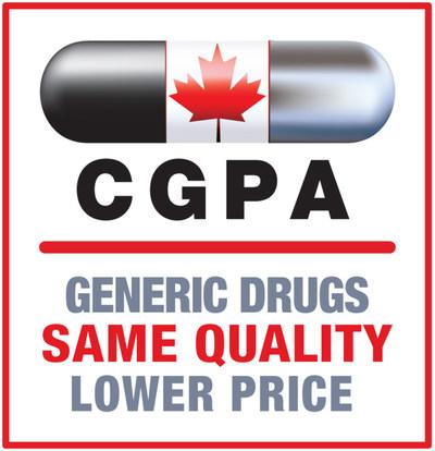 Canadian Generic Pharmaceutical Association (CNW Group/Pan Canadian Pharmaceutical Alliance)