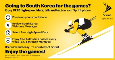 Sprint Tops the Podium at the 2018 Winter Games for the Best FREE High-Speed Data Option