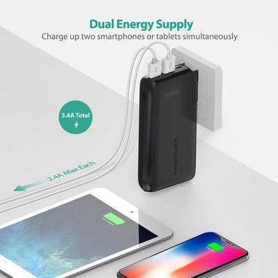 RAVPower Enhances Home Convenience With Their Wall Charger & Power Bank