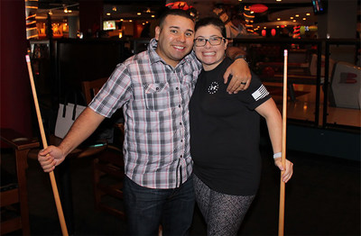 Warriors and guests enjoyed a night of bonding, bowling, and billiards.