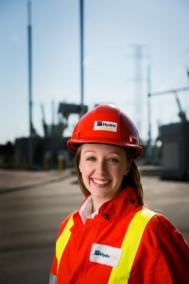 Employée d'Hydro Ottawa (Groupe CNW/Société de portefeuille d'Hydro Ottawa inc.)
