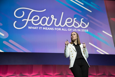 Sarah Kennedy, Marketo CMO, announces the theme for this year's Marketing Nation® Summit, The Fearless Marketer. The premier digital marketing conference runs April 29-May 2 in San Francisco.