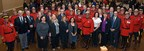 To honour all those actions that make up a long career of exemplary service and good conduct, RCMP Long Service Awards were presented to 41 recipients in London, Ontario. (CNW Group/Royal Canadian Mounted Police)