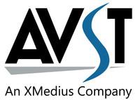 Logo: AVST, an XMedius Company (CNW Group/Les Solutions XMedius Inc.)