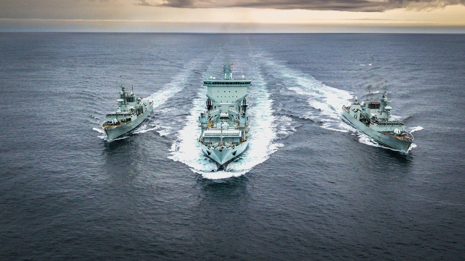 Asterix completes Royal Canadian Navy trials, achieves Full Operational Capability (FOC) (CNW Group/Davie Shipbuilding)