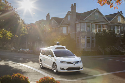 Thousands of hybrid Pacificas to be used in driverless taxi service