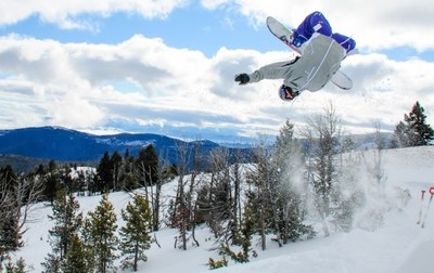 Snowboarding at the Great Divide is just one of the winter activities Montana has to offer.