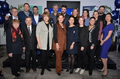 Les ambassadeurs du 50e anniversaire de l'ITHQ (Groupe CNW/Institut de tourisme et d'hôtellerie du Québec)