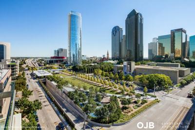 OJB Landscape Architecture wins AIA's 2018 Collaborative Achievement Award for Klyde Warren Park, a 5-acre freeway deck park in Dallas, Texas.