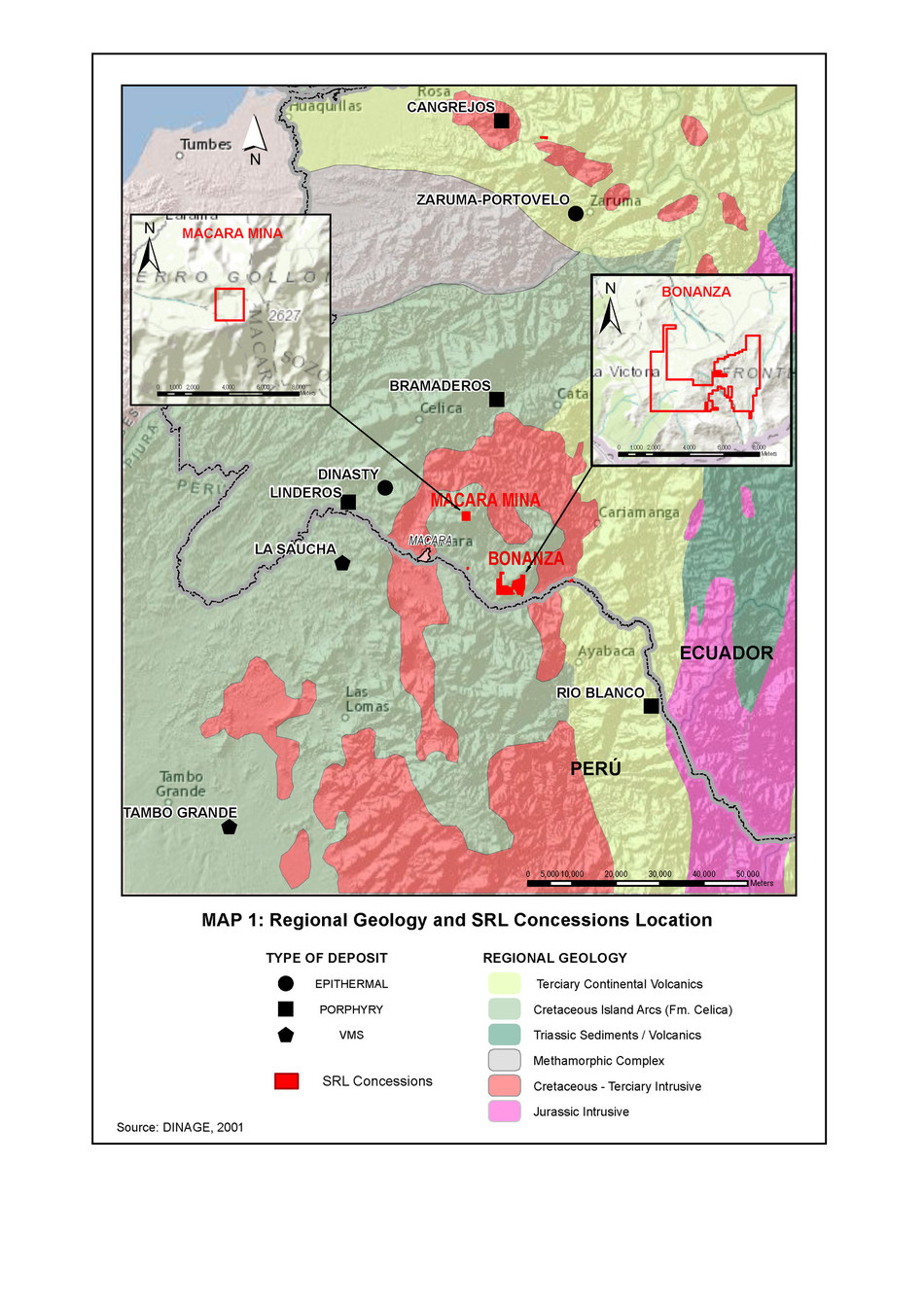 Figure 1: Macara Project Location (CNW Group/Salazar Resources Limited)