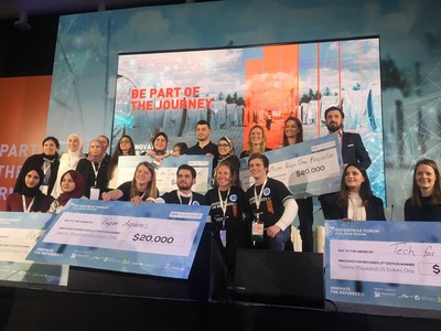 5 Winning Teams Announced in Second Edition of MIT Enterprise Forum Pan Arab Innovate for Refugees Final Award Ceremony in Amman