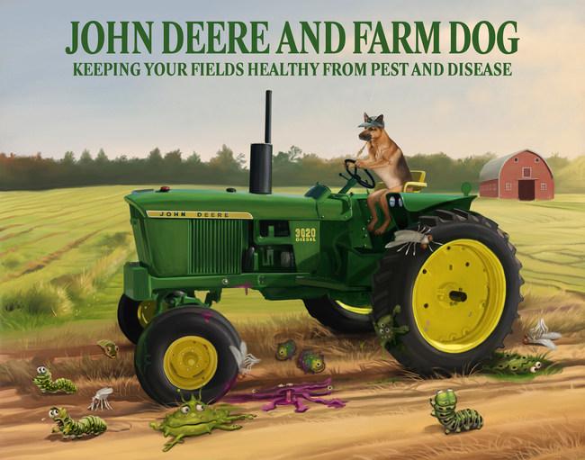 Farm Dog and John Deere