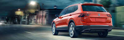 The 2018 Volkswagen Tiguan is just one of the Volkswagen models available to military personnel and first responders at a discount at Hall Cars.