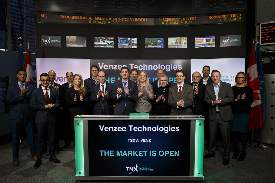 Venzee Technologies Inc. Opens the Market (CNW Group/TMX Group Limited)