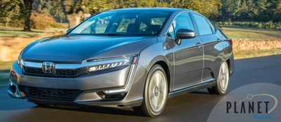 Schedule a test drive of the 2018 Honda Clarity Plug-In Hybrid at Planet Honda, located at 15701 West Colfax Ave. in Golden, CO