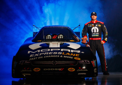 Matt Hagan will celebrate a decade behind the wheel of a Mopar Dodge Charger R/T NHRA Funny Car in 2018.