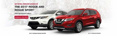 Glendale Heights, IL shoppers are invited to schedule a test drive on outgoing 2017 Nissan Rogue and 2017 Nissan Rogue Sport models.