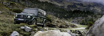 Drivers can reserve a test drive in the upcoming 2019 Mercedes-Benz G-Class on the Loeber Motors website.