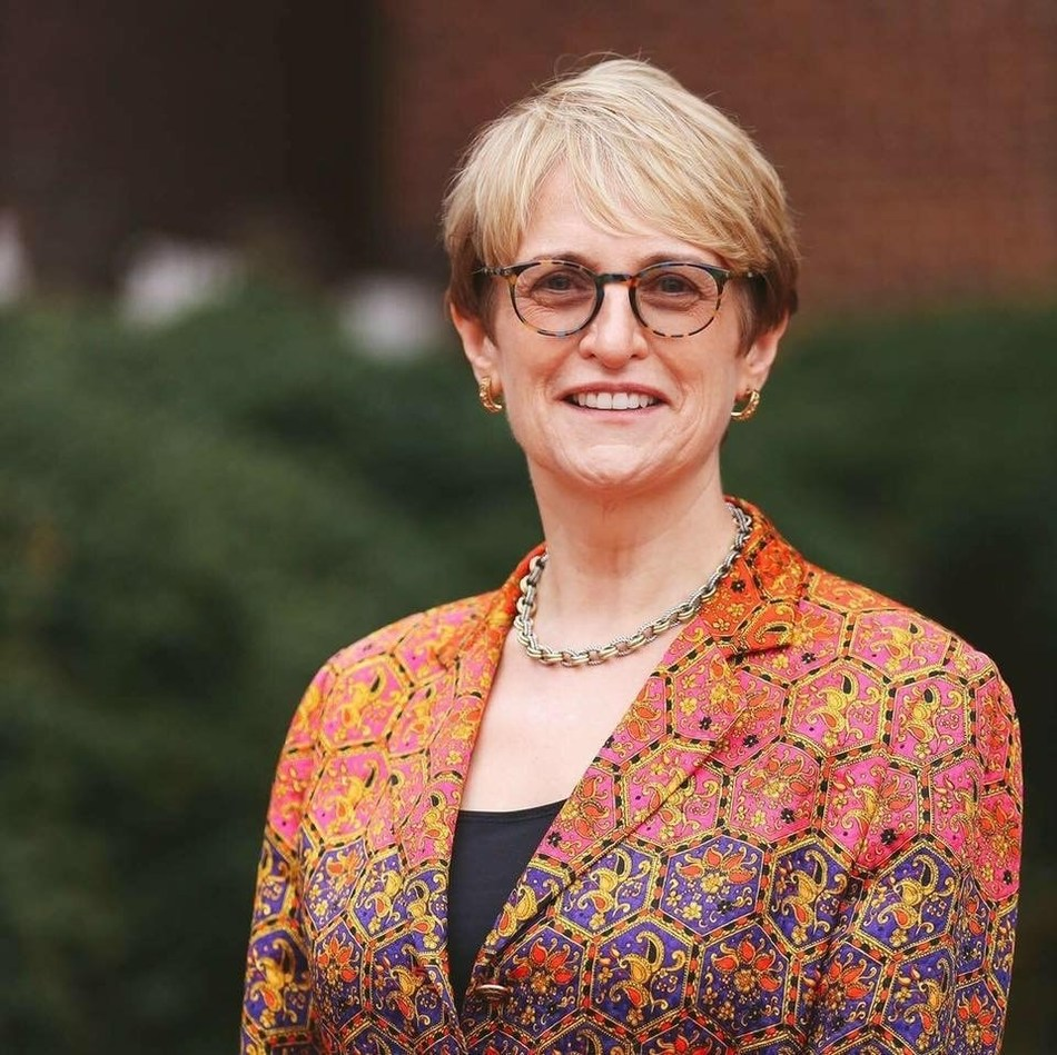 Dr. Lorraine Sterritt was named 17th president of Saint Michael's College in Vermont. She will be the first woman to lead the Catholic, residential liberal arts college.