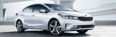 At date of publication, the stylish and efficient Kia Forte is being used for the Kia dealership comparison page.
