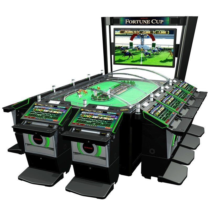 New multi-station mechanical horse racing game advances to broad roll-out following successful pilots