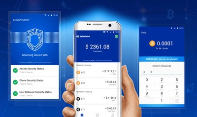 Cheetah Mobile Releases SafeWallet Cryptocurrency Wallet