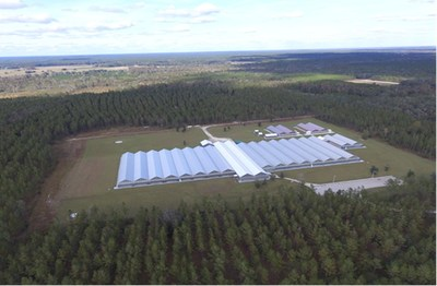 Liberty Health Sciences announces definitive agreement for the acquisition of a 387-acre parcel of land in Gainesville, Florida (CNW Group/Liberty Health Sciences Inc.)