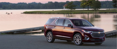 With its focus on comfort, convenience and safety for 7 passengers, the 2018 Chevrolet Traverse may be an easy pitch for potential referrals.