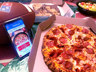 Game day is coming, and Domino's has your food plan covered. With 15 different digital ways to order, along with a wide variety of products and more than 34 million possible pizza combinations, Domino's has the key players for a winning game day spread.