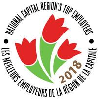 Meilleurs employeurs de la région de la capitale nationale (Groupe CNW/Mediacorp Canada Inc.)