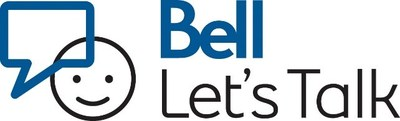 Logo: Bell Let's Talk (CNW Group/Bell Canada)