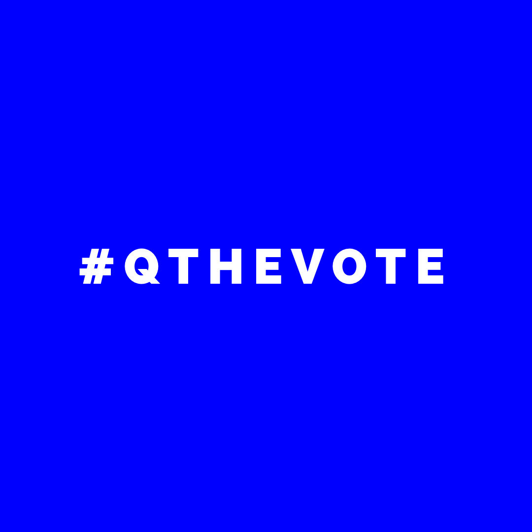 #QTHEVOTE was formed to help the LGBTQ community register to vote. https://qthevote.com You can register to vote online in as little as two minutes.