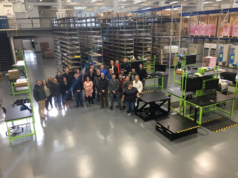 Terso Solutions 30,000 Square Foot US Production Facility in Madison, Wis Opened January 2018.