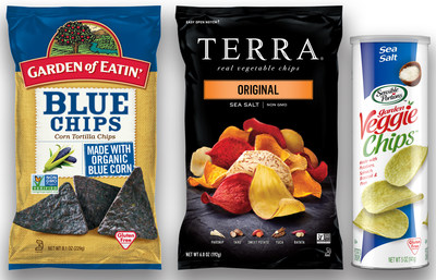 Garden of Eatin'(R), TERRA(R) and Sensible Portions(R) Snacks from Hain Celestial to Make Your Game Day or Any Day (PRNewsfoto/The Hain Celestial Group, Inc.)