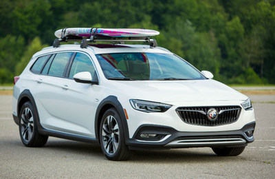 The 2018 Buick Regal TourX is available now at Palmen Buick GMC Cadillac.