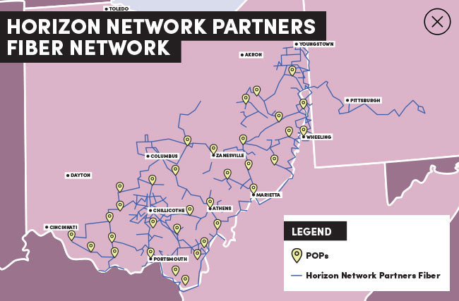 Novacap TMT, one of Canada's leading private equity firms, entered into a definitive agreement to acquire Horizon Telcom, a premier provider of fiber-optic bandwidth infrastructure services operating primarily in Ohio. (CNW Group/Novacap Management Inc.)