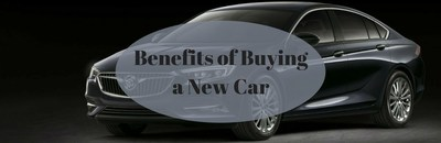 Palmen Buick GMC Cadillac discusses the benefits of buying new vehicles.