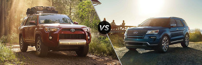 You can see a detailed competitive comparison that pits the 2018 Toyota 4Runner against the 2018 Ford Explorer at the Arlington Toyota website.