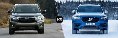 You can find a competitive comparison that highlights the similarities and differences between the 2018 Toyota Highlander Hybrid and 2018 Volvo XC90 Hybrid on Arlington Toyota's Website.