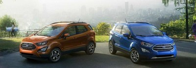 The 2018 Ford EcoSport is the smallest and most affordable crossover in the Ford lineup, and it's available at Fitzgerald Auto Group.