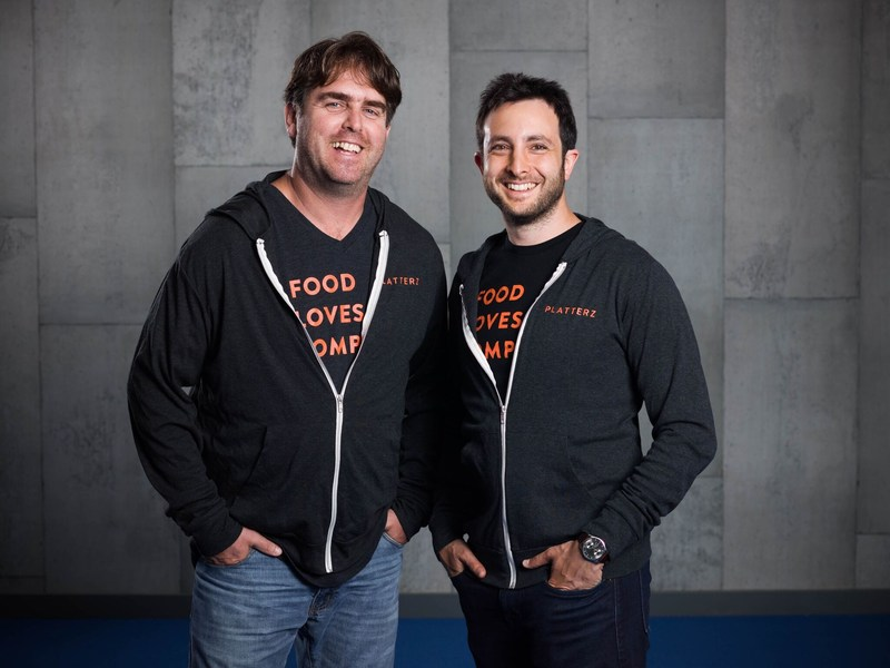 Co-Founders Eran Henig (right) and Yishay Waxman (left) (CNW Group/Platterz)