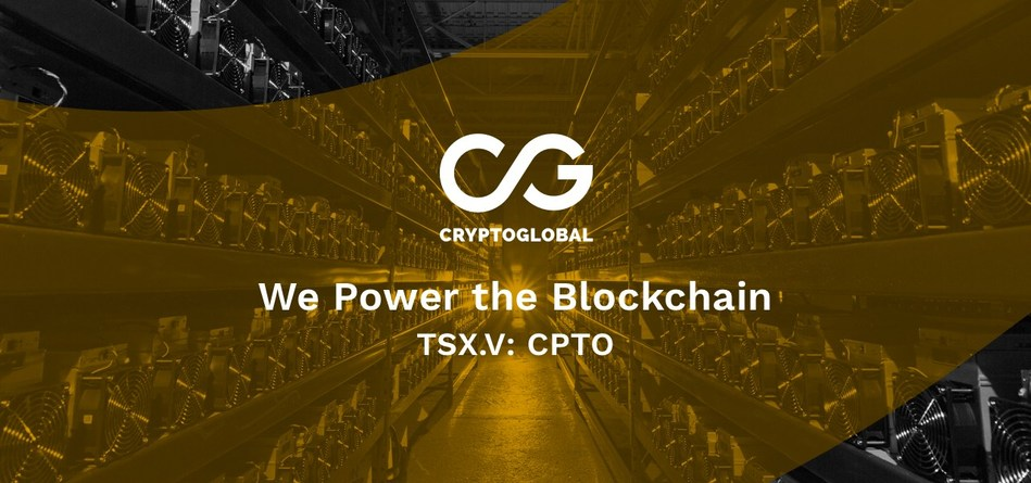 CryptoGlobal is a leading Canadian blockchain and financial technology company.  Learn more at www.cryptoglobal.io (CNW Group/CryptoGlobal Corp.)