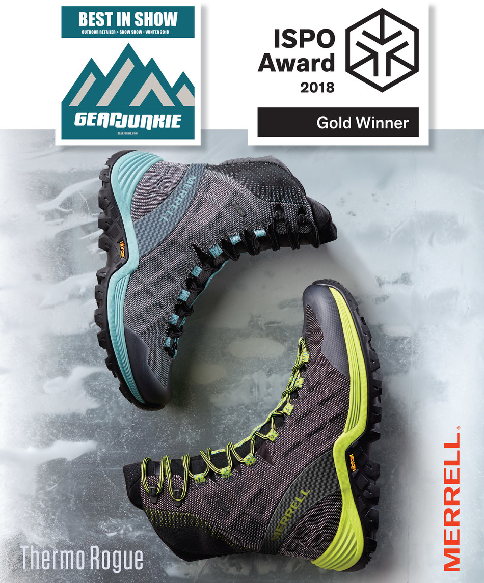 df48ed670d3 Hike Fast in Extreme Winter Conditions with Merrell's NEW Thermo Rogue