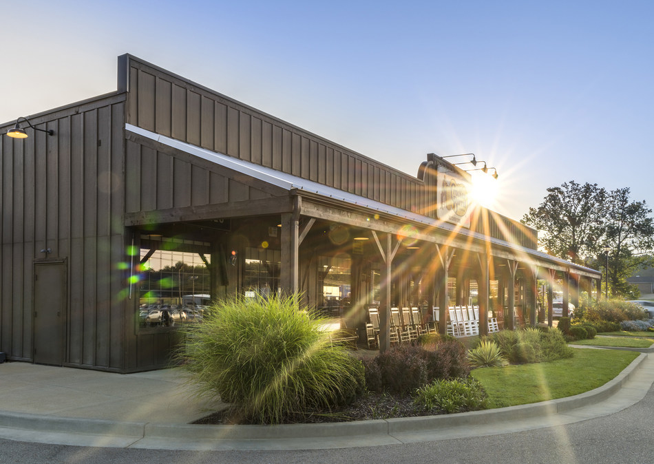 The first Cracker Barrel Old Country Store located in the Golden State will open in Victorville, California on Mon., Feb. 5.